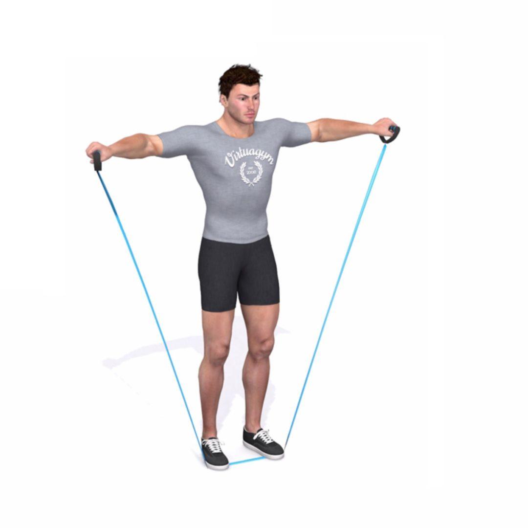 Schoulder press - Fitness Als Medicijn Oefening