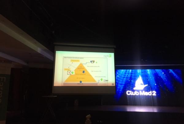 Algemeen Geneeskundig en Farmaceutisch Symposium op de Club Med 2-vijfmaster